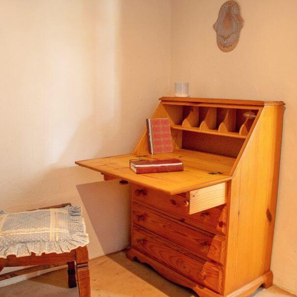Writing desk in second bedroom